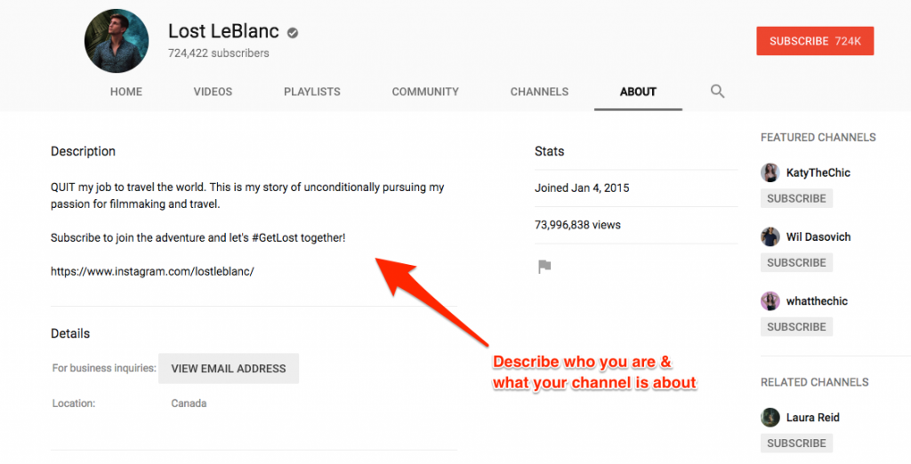 Get more YouTube views through a better optimized channel
