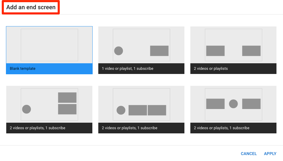 Engaging end screens can keep viewers within your channel and increase your YouTube views